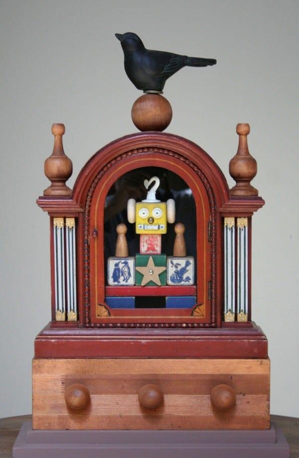 Bird Box   Sculpture by Tom Potocki Fine Arts   Charleston, SC