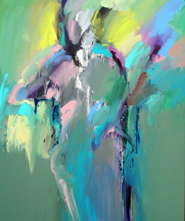 Blue Figure | Painting by Tom Potocki Fine Arts | Charleston, SC