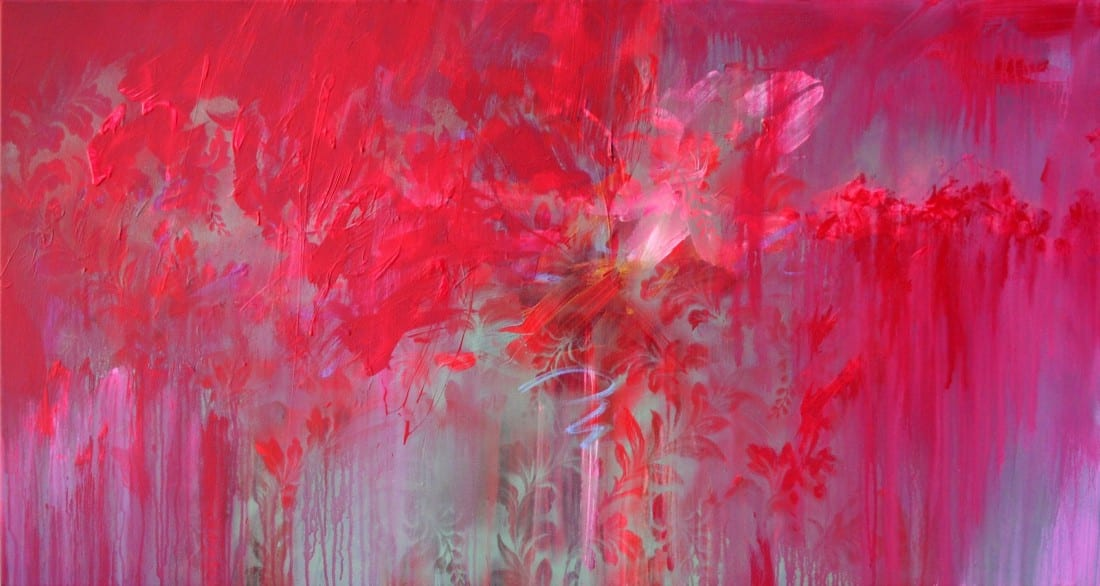 Crimson Splash 33 x 62