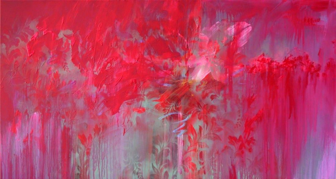 Crimson Splash 33 x 62