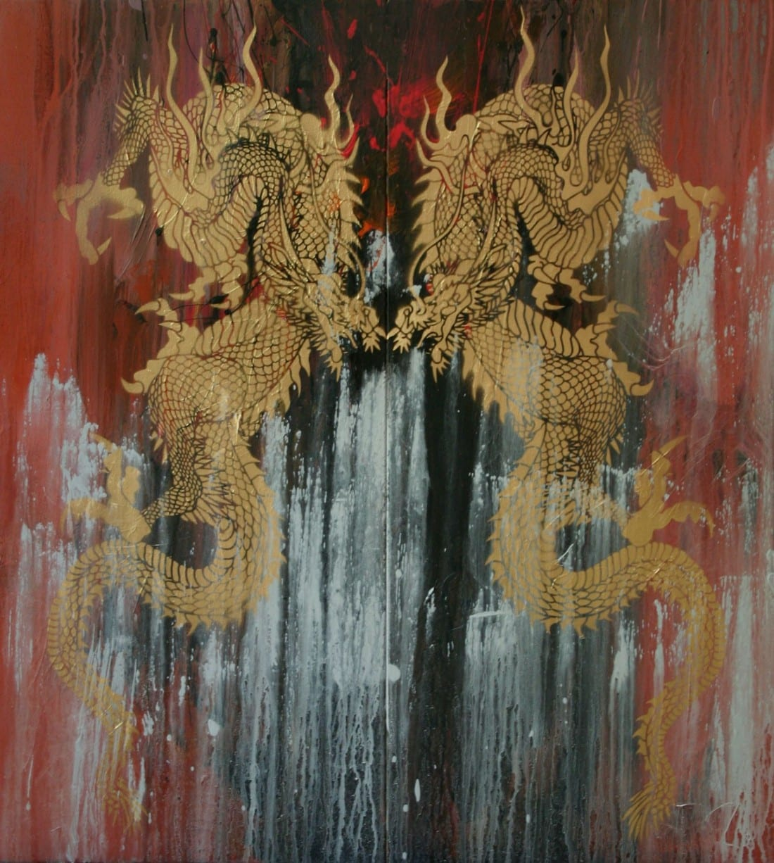 Double Dragon 36 x 40