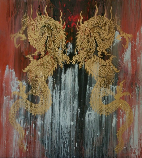 Double Dragon | Painting by Tom Potocki Fine Arts | Charleston, SC