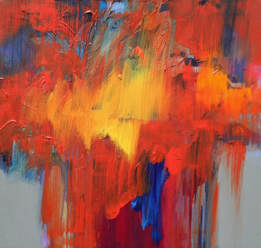 Floral Energy 24 x 26 SOLD
