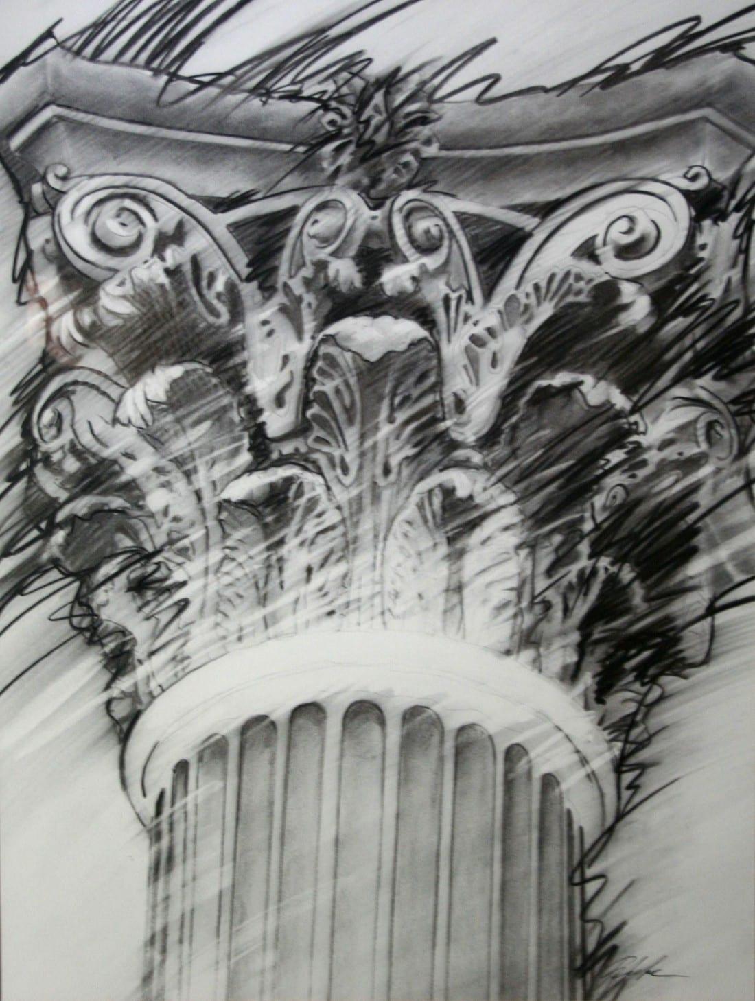 Law Column 30 x 40