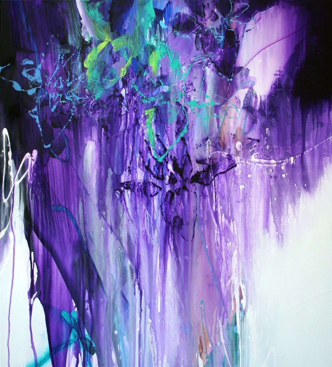 Purple Flow 40 x 48 SOLD