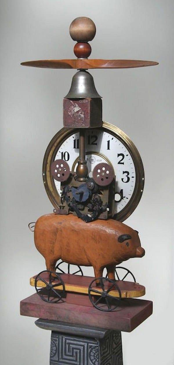 Pig Time   Sculpture by Tom Potocki Fine Arts   Charleston, SC