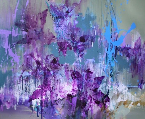 Purple Escape | Painting by Tom Potocki Fine Arts | Charleston, SC