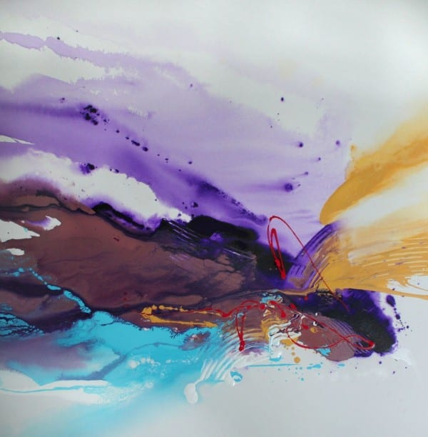 Purple Splash | Painting by Tom Potocki Fine Arts | Charleston, SC