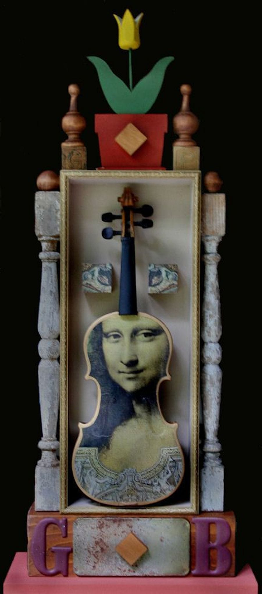 Violin | Sculpture by Tom Potocki Fine Arts | Charleston, SC
