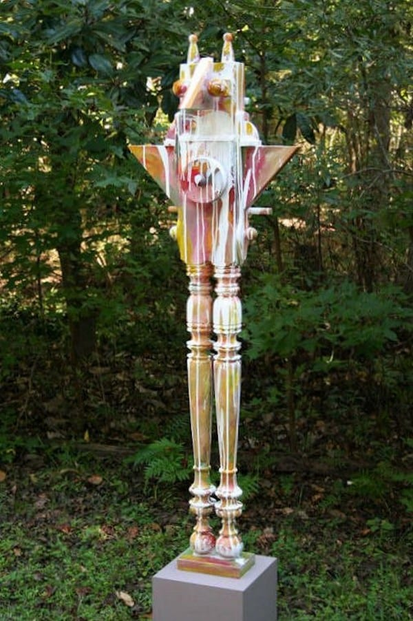 Winged Totem   Sculpture by Tom Potocki Fine Arts   Charleston, SC