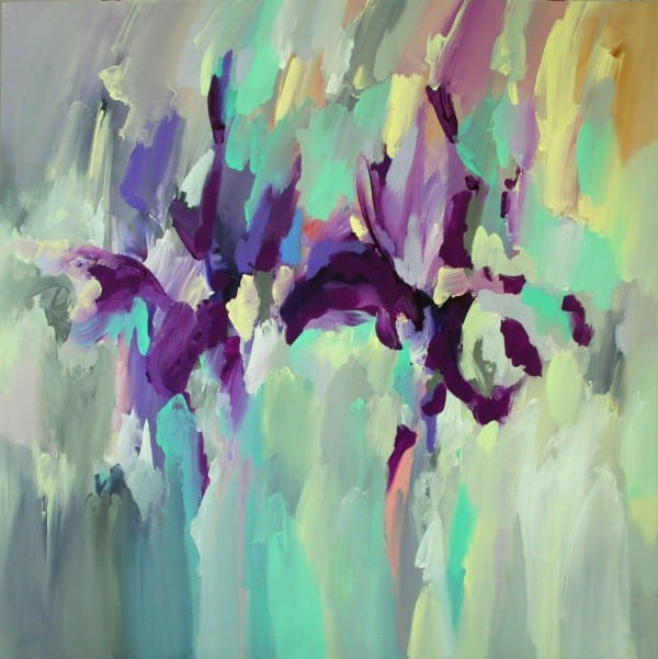 Yellow Violet | Painting by Tom Potocki Fine Arts | Charleston, SC
