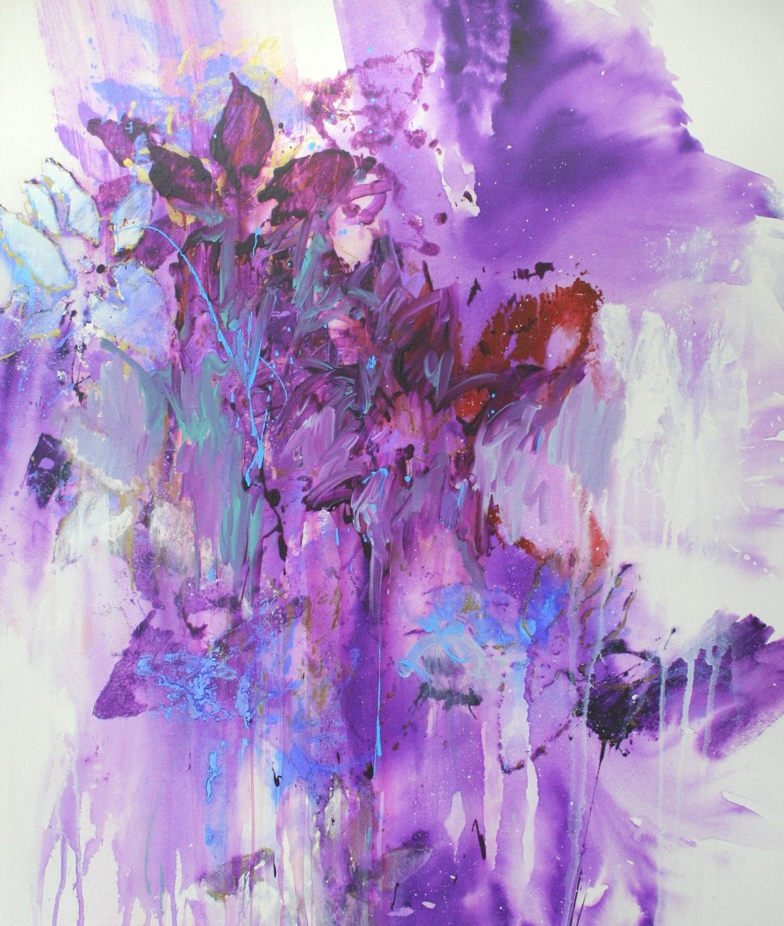 Purple Rain 44 x 52