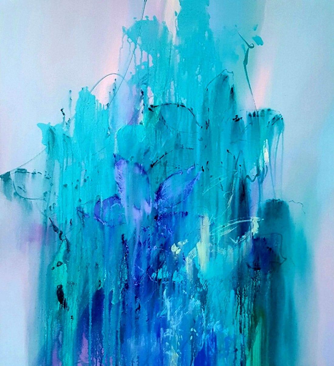 Blue Persuasion 36 x 40
