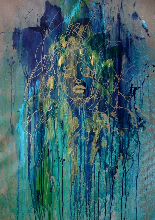 Mixed Media Drawings by Tom Potocki