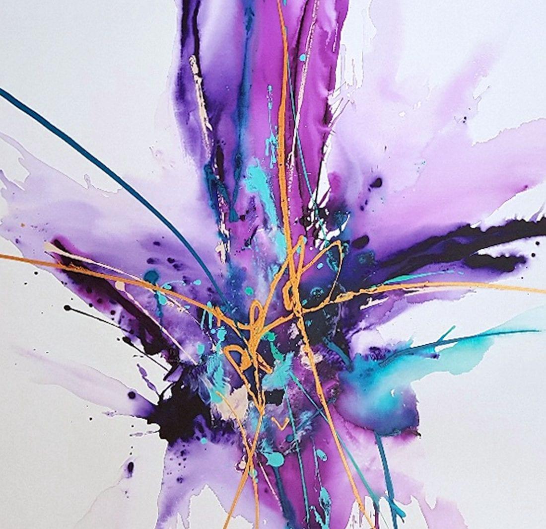 Violet Adventure 40 x 42