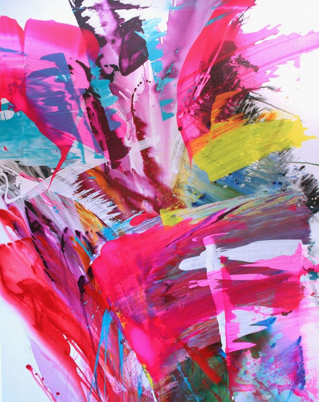 Bird of Paradise 48 x 68