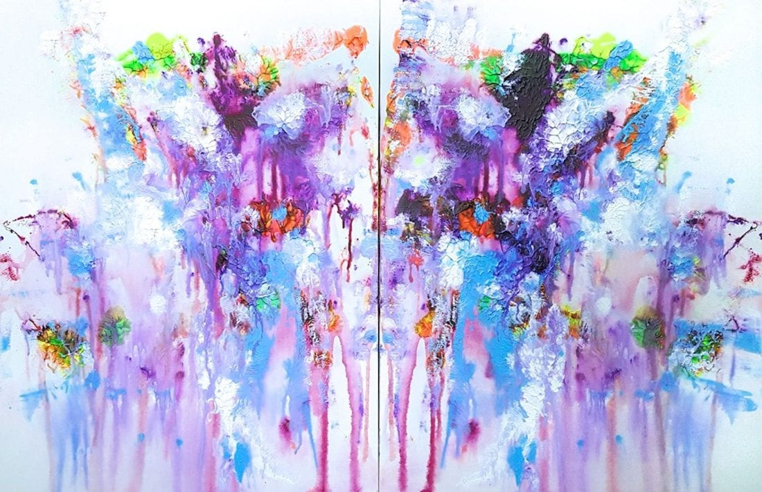 Double Vision 30×48