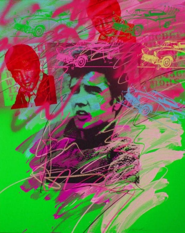 Elvis Pop Art painting