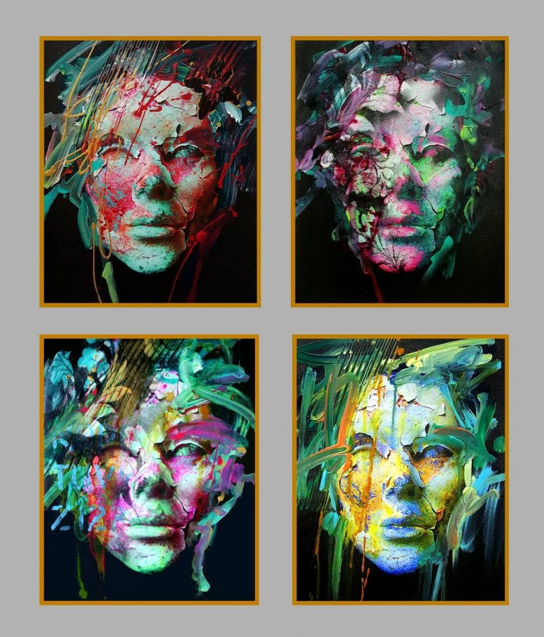 Mask – 4 of 16×20 each